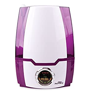 1.37 Gal. Cool Mist Digital Humidifier for Large Rooms – Up to 400 Sq. Ft - Purple