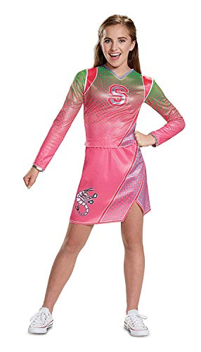 Z-O-M-B-I-E-S Classic Addison Cheerleader Costume For Kids by -