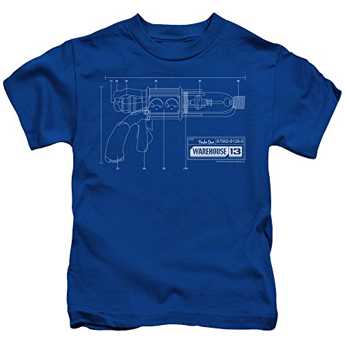 Warehouse 13 Science Fiction Fantasy TV Series Tesla Gun Little Boys T-Shirt Tee