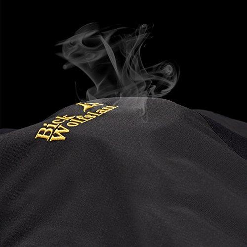 1 Transpirables 3 y oscuro Softshell en Hombre Chaquetas Cortavientos Chaqueta HAINES Azul Impermeables Montaña qt68n