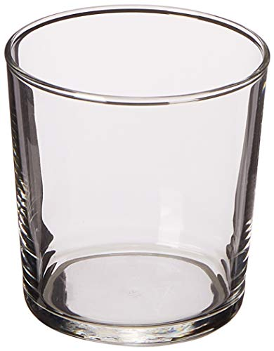 Bormioli Rocco Bodega Collection Glassware – Set Of 12 Medium 12 Ounce Drinking Glasses For Water, Beverages & Cocktails – 12oz Clear Tempered Glass Tumblers For Sale