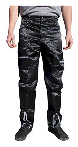Panno D'Or Shiny Nylon 80s Parachute Pants (Exactly 32