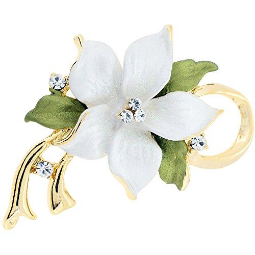 istmas Star Flower Swarovski Crystal Pin Brooch and Pendant (Swarovski Crystal Star Brooch)