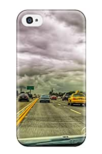 Imogen E. Seager's Shop Premium Case With Scratch-resistant/ Locations California Case Cover For Iphone 4/4s