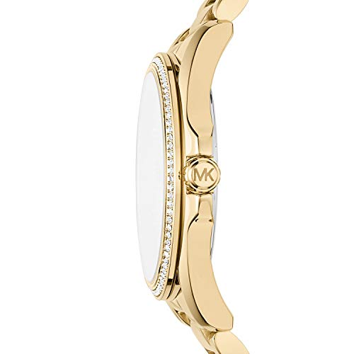 Michael Kors Women s Bradshaw Analog-Quartz Watch with Stainless-Steel Strap, Gold, 20 Model MK6555