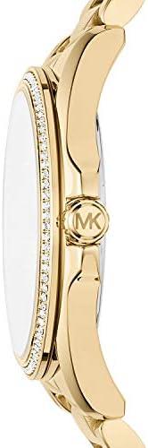 Michael Kors Women s Bradshaw Analog-Quartz Watch with Stainless-Steel Strap, Gold, 20 Model MK6555