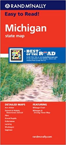How Do I Get Free Kindle Books Rand McNally Easy To Read Michigan - Rand mcnally easy to fold maps