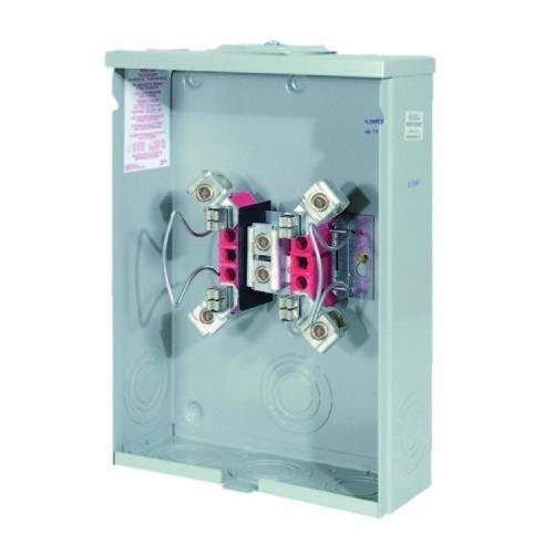Milbank U7040-XL-TG 200A Wide Can Meter Socket No Hub