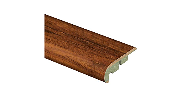 Zamma Perry Hickory 3 4 In Thick X 2 1 8 In Wide X 94 In Length Laminate Stair Nose Molding Amazon Com