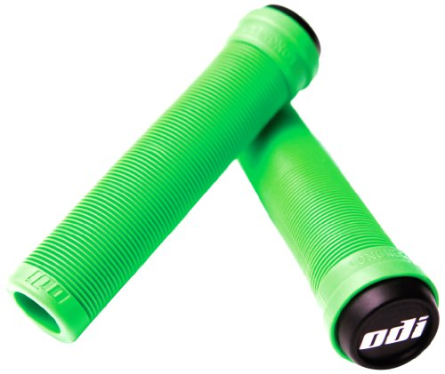 Oval Scooter - ODIA7 Odi Soft Flangeless Longneck Grips, Lime Green