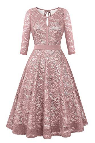 A-line Formal Dress - BBX Lephsnt Lace Cocktail Dress for Women, Sleeveless Party Dress A-line Formal Dress
