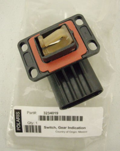 Polaris OEM ATV Main Gearcase 3 Position Shift Selector Switch 3234019 Magnum 325, 500, PTV Gear Position Switch