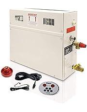 YJINGRUI 7KW Stoomgenerator Sauna Stoombad Generator Thuis Stoomdouche Sauna Stoomgenerator voor Douche/Sauna Bad/Thuis SPA 7m3/met Warmte-Behouden/Zelfafvoerende 220V (ST-135AD)