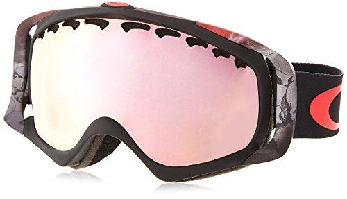 Oakley OO7005N-34 Crowbar Eyewear, VOD, VR50 Pink Iridium - Black And Sunglasses Oakley Pink