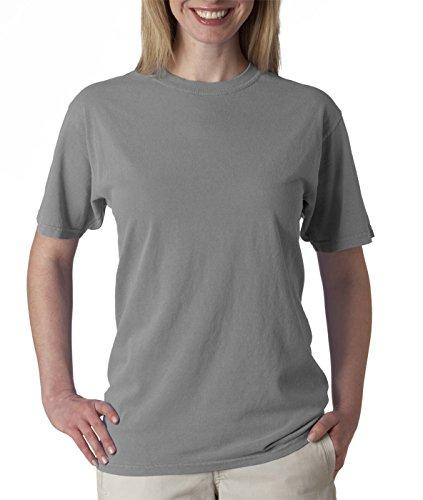 Short Sleeve Colour - Comfort Colours Adults Unisex Short Sleeve T-Shirt (M) (Granite)
