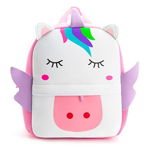 (Nice Choice Toddler Unicorn Bag Animal Cartoon Preschool Backpack For Little Girls (Neoprene))