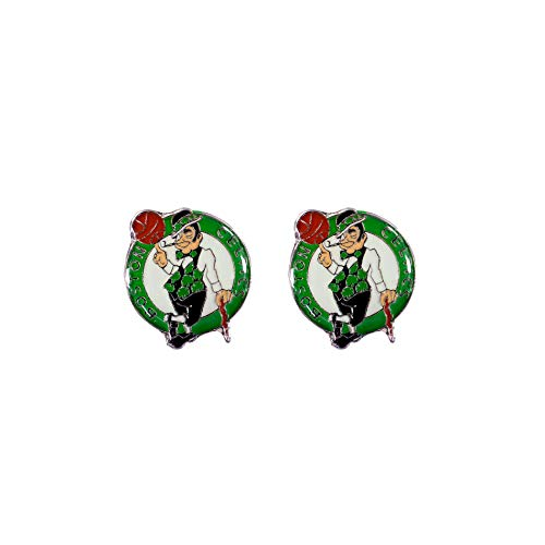 NBA Boston Celtics Team Post Earrings