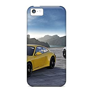 JQT11293SKRv Anti-scratch Cases Covers AlikonAdama Protective 2012 Porsche 911 Carrera 4 Gts Cases For Iphone 5c