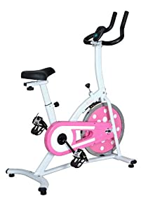 Sunny Health And Fitness Indoor Cycling Bike Pink