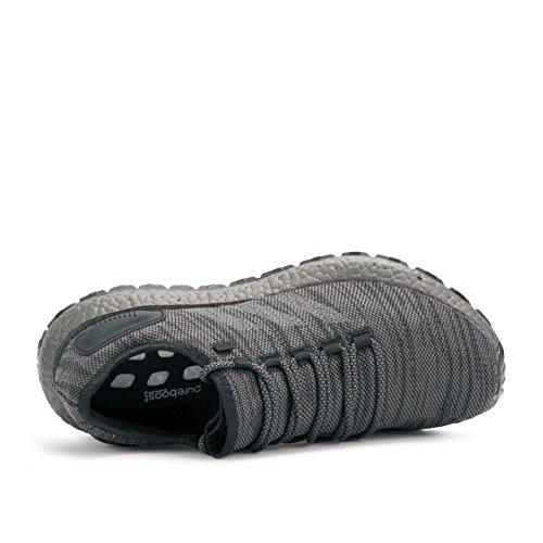 Adidas Performance Mens Pureboost Atr Scarpa Da Corsa Nero / Grigio Solido Grigio / Grigio Traccia / Metallizzato