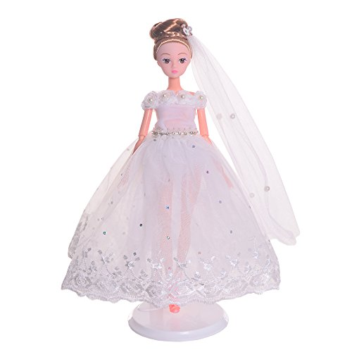Lazada Fairytale Ballerina Doll Wearing Gown Gift for Girl Collectible 13'' with Display Stand Gift Bag