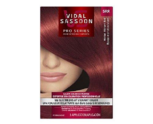 Vidal Sassoon Pro Series Hair Color 5Rr Medium Vibrant Red 1 Kit, 1 ct (Pack of 3)