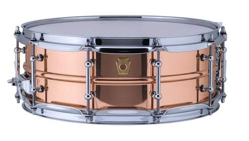 Ludwig Copper Phonic Smooth Snare Drum 14 x 5 in. Smooth Finish with Tube Lugs
