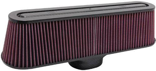 K&N RP-5135 Universal Air Filter - Carbon Fiber Top