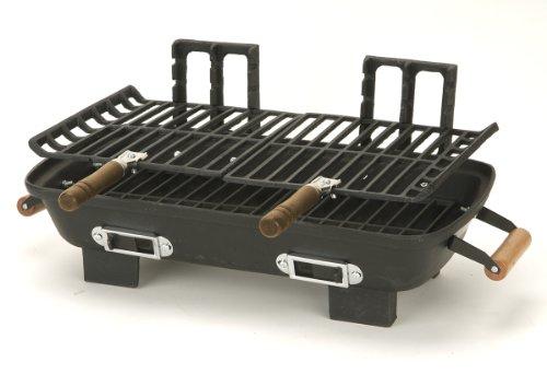 Amazon.com: Marsh Allen 30052 Cast Iron Hibachi 10 By 18 Inch Charcoal Grill:  Patio, Lawn U0026 Garden