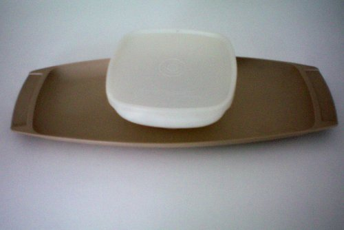 VINTAGE Tupperware Relish Tray with Bowl and