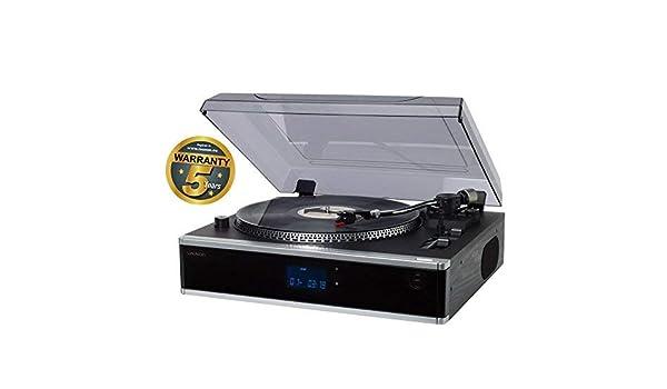 Lauson Tocadiscos Profesional para CD/MP3, Radio PLL ...