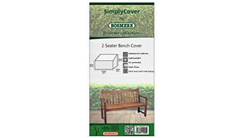 Simply Cover Bosmere 2 Seater Bench Cover Bramble L405