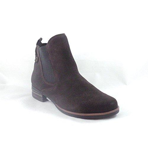 Marco Tozzi - Botas para mujer marrón marrón