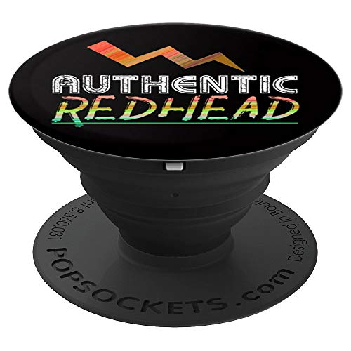 (Authentic Redhead Keep Out Of Direct Sunlight - PopSockets Grip and Stand for Phones and)