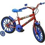 Bicicleta Infantil Aro 16 Polikids Vermelha Polimet Meninos Vermelho Outro (especifique na descrição do produto)