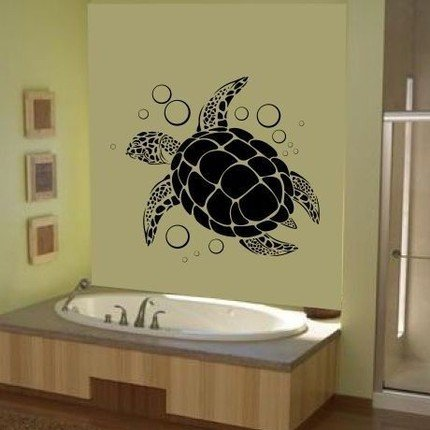Amazon.Com: Sea Turtle Wall Art Vinyl Decal Sticker Graphic Ocean
