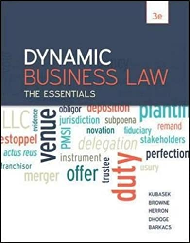 mcgraw hill dynamic business law quiz answers
