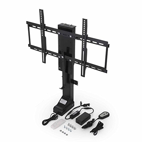 16' Remote Control Pedestal - Mophorn Electric Motorized TV Lift Stand for 32-70