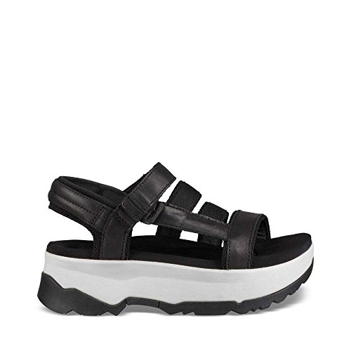 schwarz schwarz schwarz Sandalen Teva Damen Damen Sandalen Teva schwarz Teva qPw4PAZt