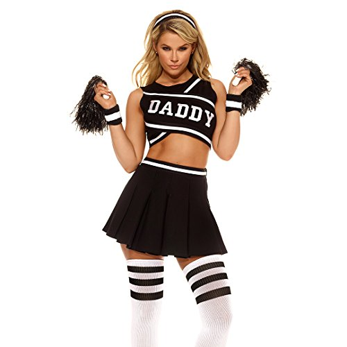 Forplay Women's Daddy's Girl Costume, Black, Small/Medium]()
