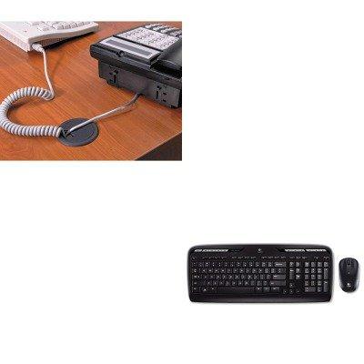 KITLOG920002836MAS00202 - Value Kit - Master Caster Adjustable Grommet (MAS00202) and LOGITECH, INC. MK320 Wireless Desktop Set (LOG920002836) ()