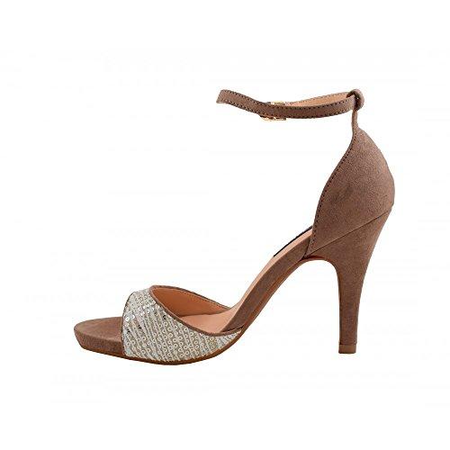 Benavente Women's Fashion Sandals Taupe iPEyWCEWQ