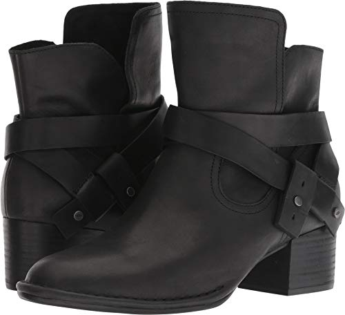 UGG Women's W Elysian Boot Fashion, Black, 8.5 M US (Leather Ugg Women Boots)