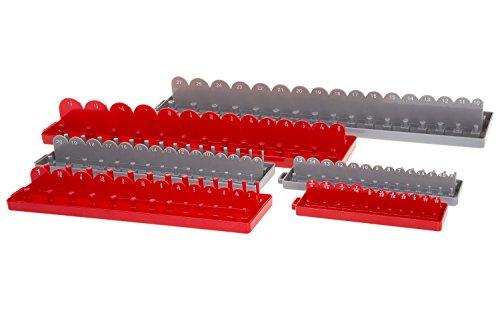 Inertia Tools Metric and SAE Socket Tray Organizer - 6 Pieces