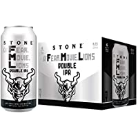 Cerveza Importada Stone Fear Movie Lions Double IPA 12 pack. Hecha en EUA.