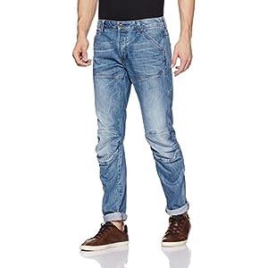 G-Star Raw Men's Slim Jeans in Black Pintt Stretch Denim