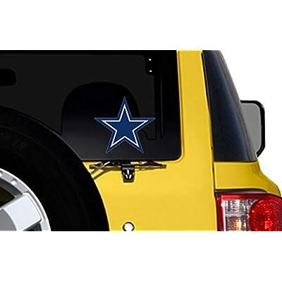 Large Blue Star Dallas Cowboys Colors Sticker (Logo Big dak Fan ROMO): Arts, Crafts & Sewing