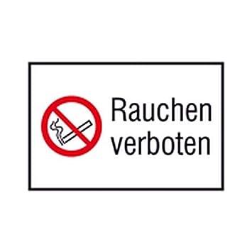 Cartel prohibido fumar combinado de caracteres/prohibición ...