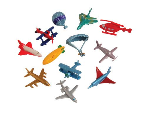 Jet Concorde (Aircraft Transportation Figurines - Mini Action Figures Replicas - Miniature Plane and Jet Playset)
