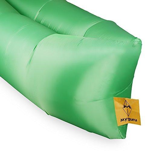 Myguru sofá hinchable con aire, mueble portátil, para dormir ...